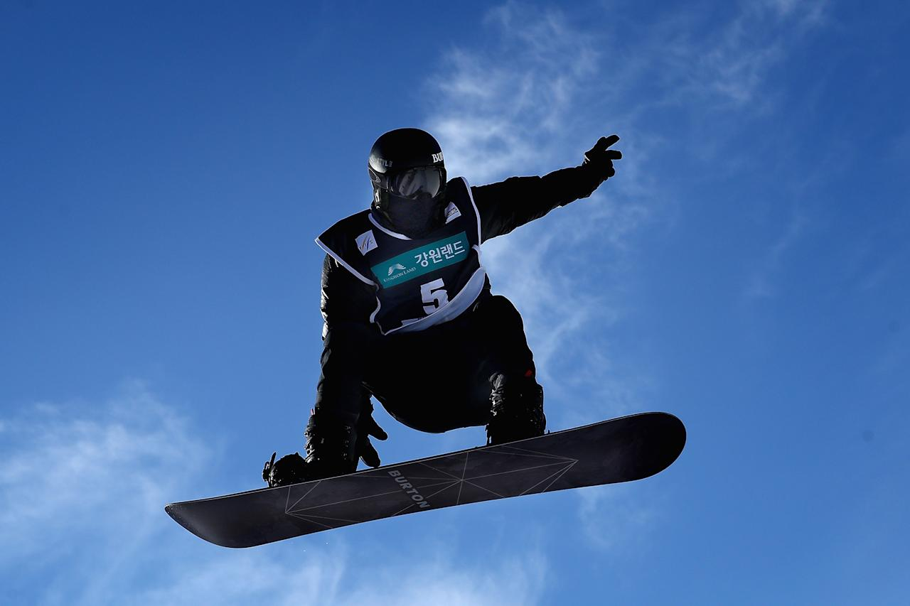 Shaun White just fine with upping ante on Olympic halfpipe