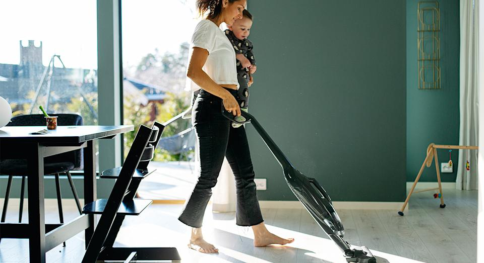 Make your spring clean a breeze with Shark's vacuum cleaner, which is now on sale.  (Getty Images)