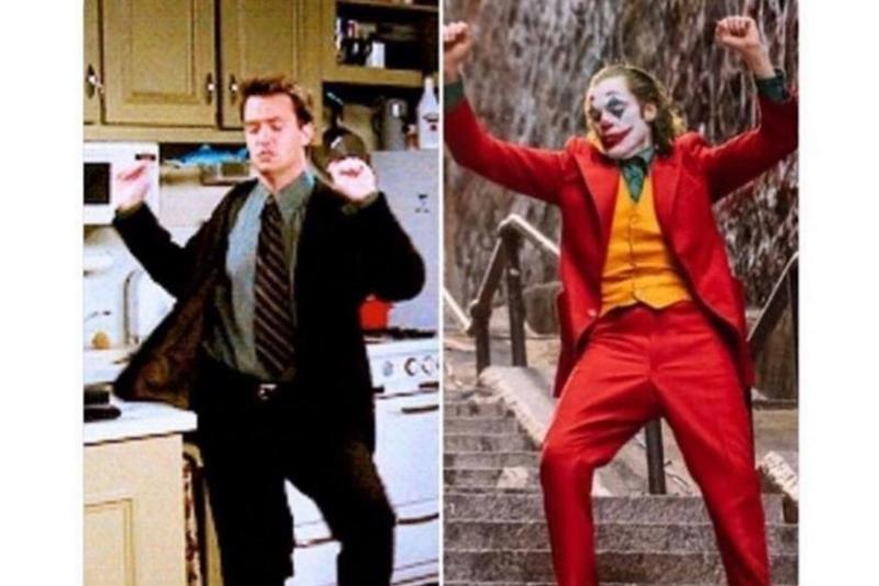 Matthew Perry Thinks the Joker Copied Chandler Bing's Iconic Dance Moves in 'Friends'