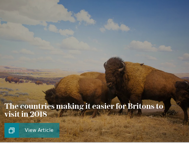The countries making it easier for Britons to visit in 2018