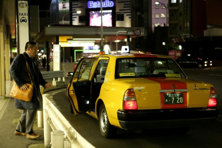 Hailing a taxi rarely takes more than a few seconds in major Japanese cities