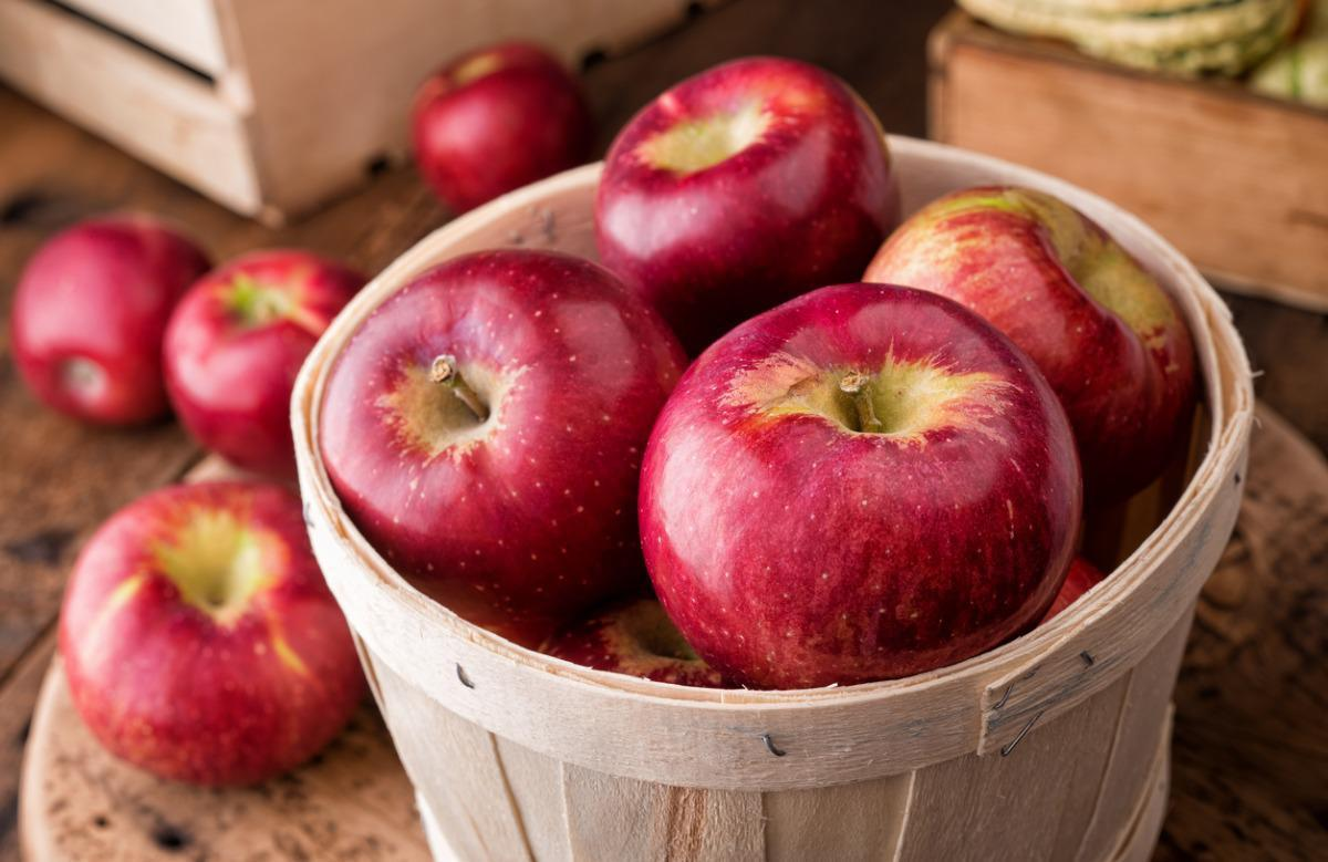 "<p>There's logic behind the old saying about<a href=""https://www.theactivetimes.com/healthy-living/apple-day-keep-doctor-away?referrer=yahoo&category=beauty_food&include_utm=1&utm_medium=referral&utm_source=yahoo&utm_campaign=feed""> apples keeping the doctor away</a>. A good source of fiber (and a fan favorite in recipes), apples are rich in vitamin C, which can help keep capillaries and other blood vessels healthy, along with aiding in the absorption of iron and lowering blood cholesterol levels. Confused by all the different varieties? This <a href=""https://www.thedailymeal.com/eat/apple-varieties-uses?referrer=yahoo&category=beauty_food&include_utm=1&utm_medium=referral&utm_source=yahoo&utm_campaign=feed"">handy guide to apple types</a> can help.</p>"