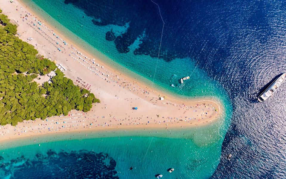 Croatia is among those EU nations now actively encouraging British travellers to visit - getty