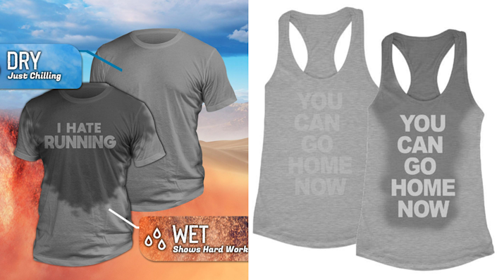 Best health and fitness gifts 2021: Sweat activated t-shirts
