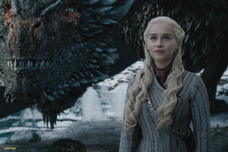 Emilia Clarke in Game of Thrones (Credit: HBO)
