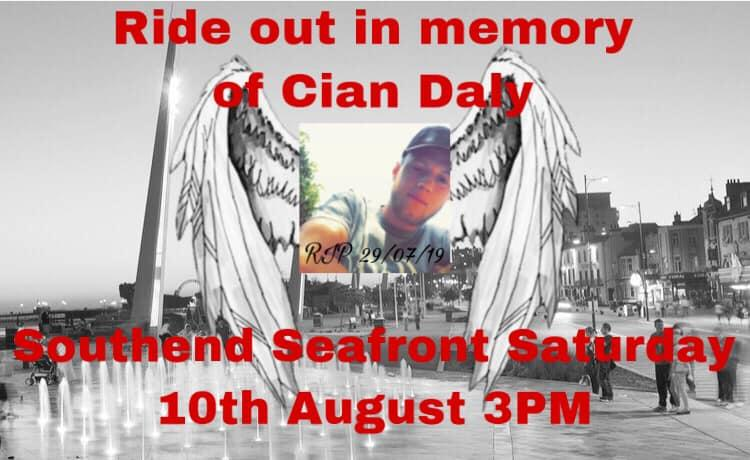 Friends have organised a rideout in Cian's memory (Picture: Facebook)