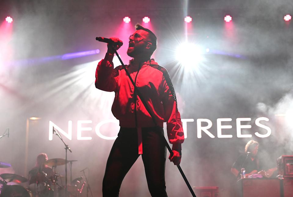 Tyler Glenn and Neon Trees perform at Nashville Pride in 2019. (Photo by Jason Kempin/Getty Images)