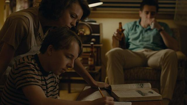 Carey Mulligan, Ed Oxenbould and Jake Gyllenhaal appear in <i>Wildlife</i>, directed by Paul Dano. (Photo courtesy of Sundance Institute)