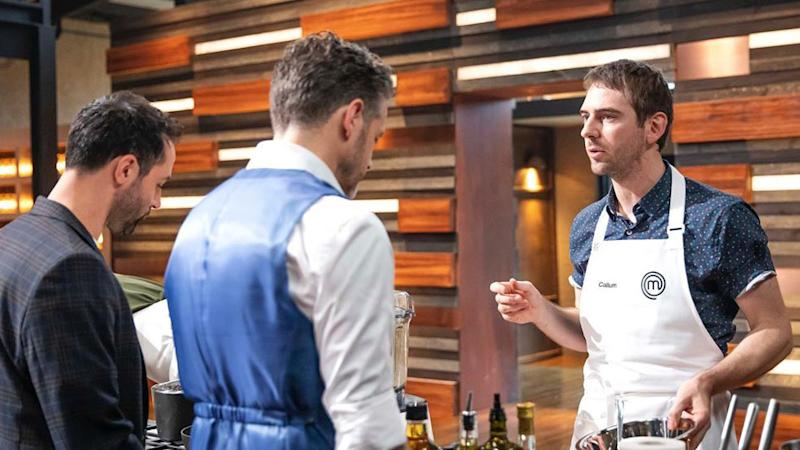 Callum Hann has revealed he was very close to leaving MasterChef partway through filming. Photo: Ten