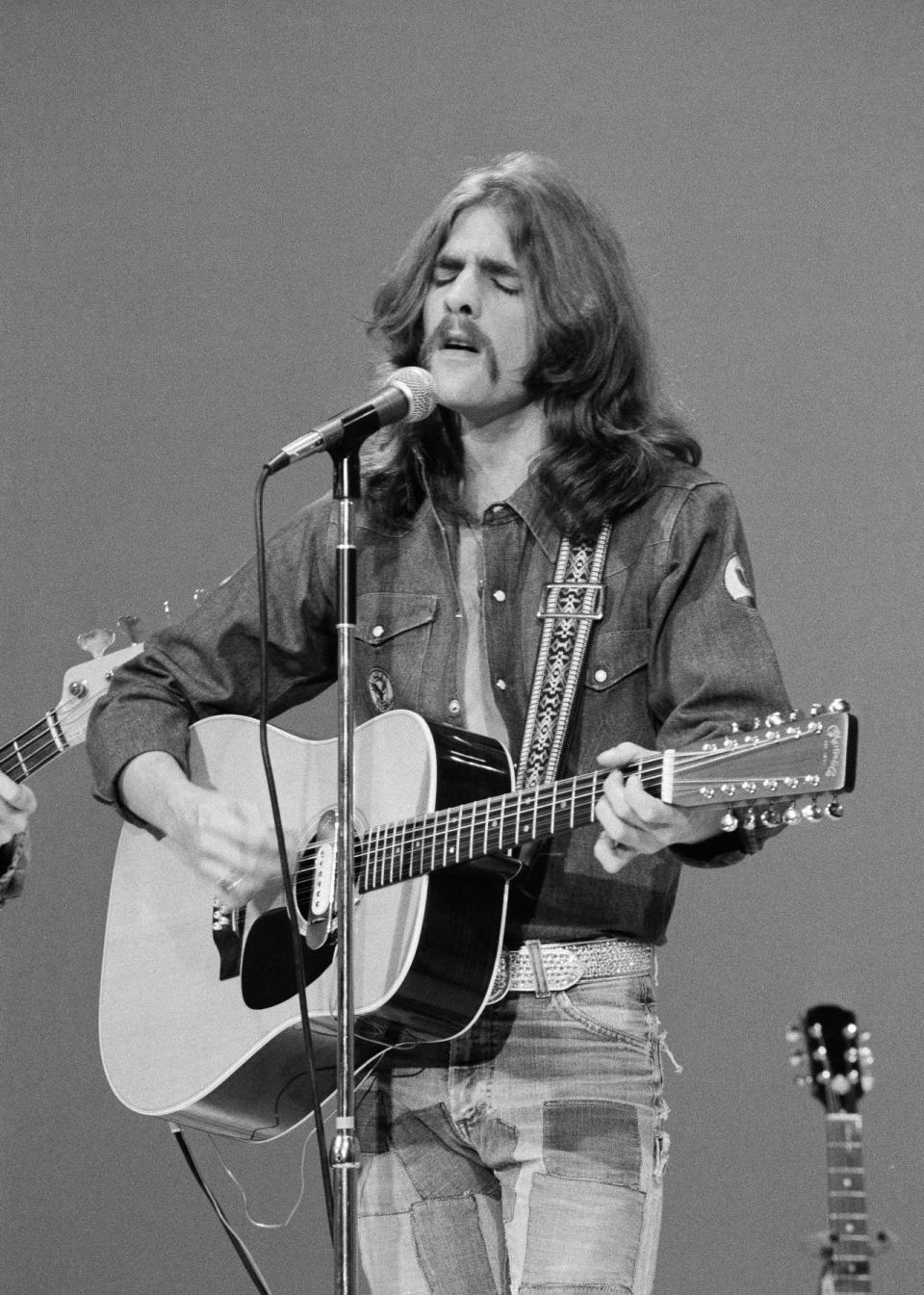 Glenn Frey was a founding member of the Eagles. He died Jan. 18 after suffering complications arising from rheumatoid arthritis, colitis, and pneumonia. He was 67. (Photo: Getty Images)