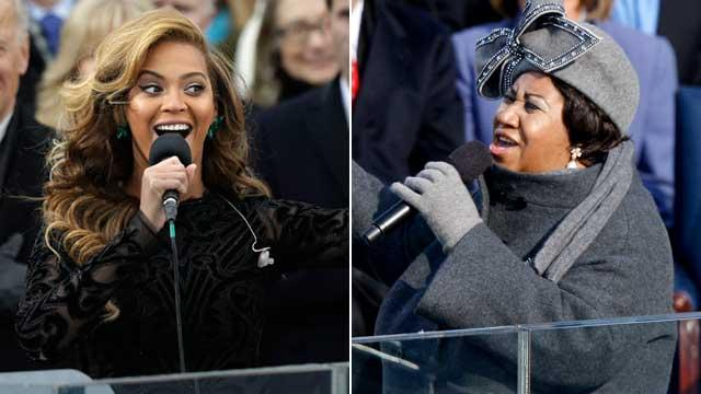 Aretha 'Laughed' About Beyonce Lip-Sync Controversy
