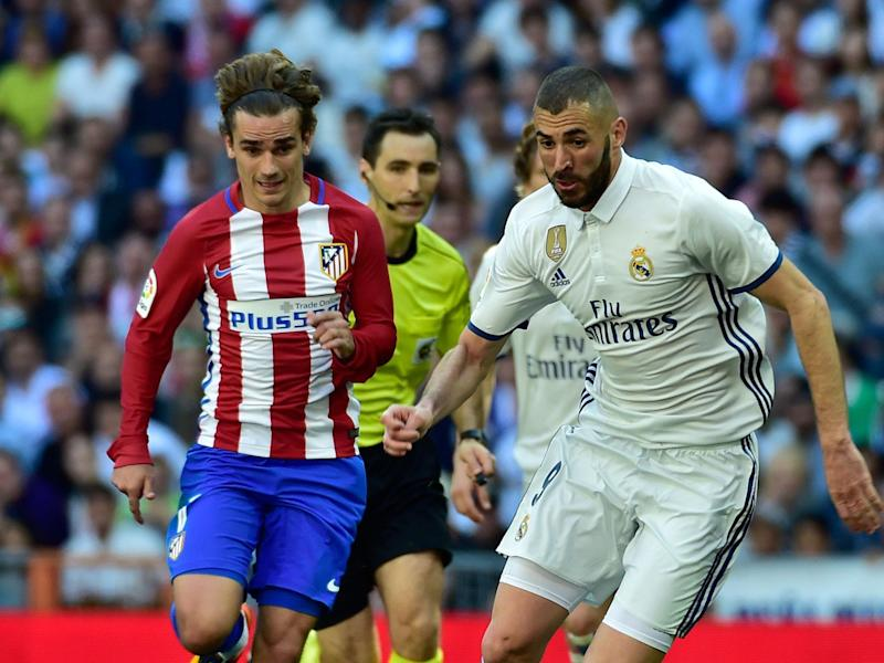 Atletico Madrid and Real Madrid face each other once again in the Champions League: AFP