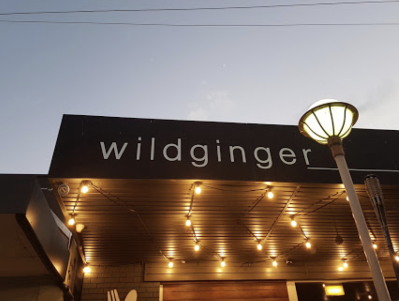 Photo shows front of Wildginger in Huskisson which is closed for two weeks.