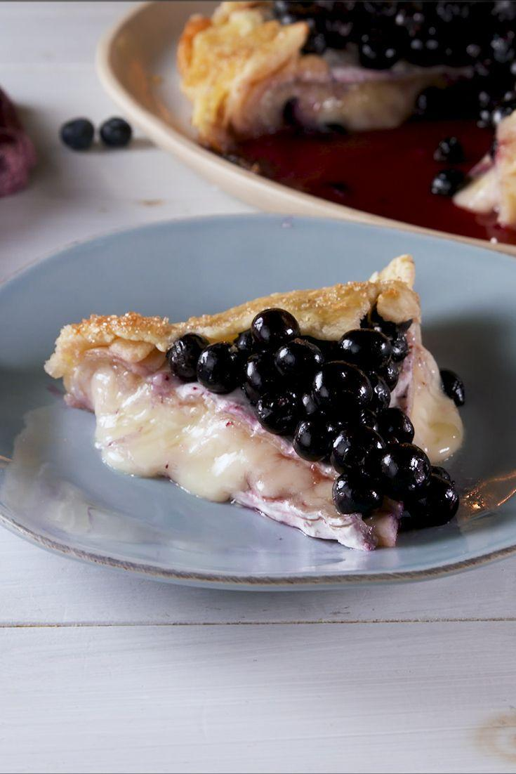 """<p>There is nothing basic about this pie.</p><p>Get the recipe from <a href=""""https://www.delish.com/cooking/recipe-ideas/a28580905/blueberry-brie-pie-recipe/"""" rel=""""nofollow noopener"""" target=""""_blank"""" data-ylk=""""slk:Delish"""" class=""""link rapid-noclick-resp"""">Delish</a>.</p>"""
