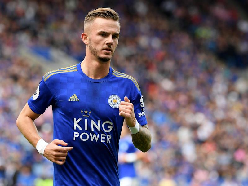 James Maddison is yet to make his England debut: Getty