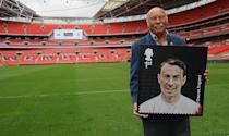 <p>Jimmy Greaves nel 2013 (Photo by Christopher Lee - The FA/The FA via Getty Images)</p>
