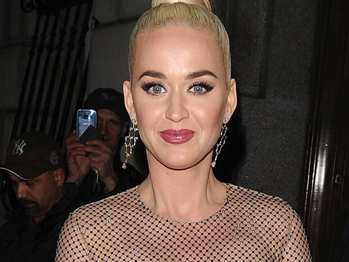 Katy Perry in February 2020.