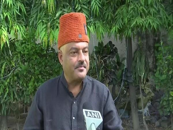 Ajay Kothiyal, the Chief Ministerial face of AAP in Uttarakhand. (Photo/ANI)