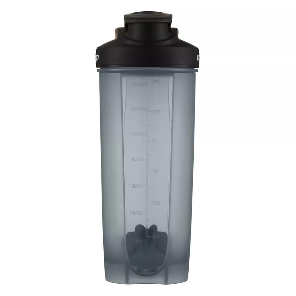 <p>The large-capacity <span>Contigo 28oz Shake &amp; Go Fit Plastic Water Bottle</span> ($7) is great for when I want to blend my protein powder with my powdered collagen and greens. While I've never bartended in my life, I hold it from the top and bottom and shake it like I'm making a massive, protein-packed, nonalcoholic cocktail. </p>