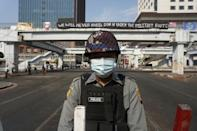 It remains unclear how many of Myanmar's public sector workers are on strike, but their absence is beginning to bite