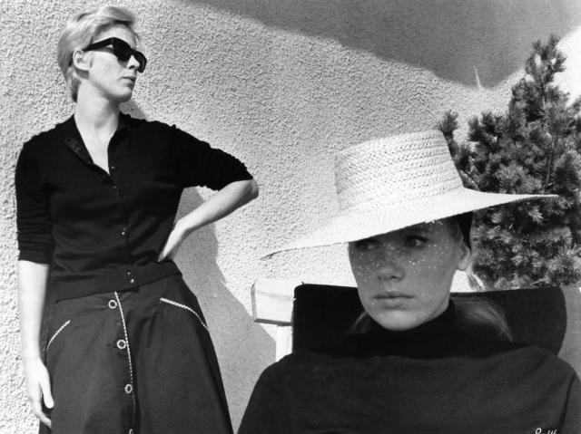 Bibi Andersson and Liv Ullmann in