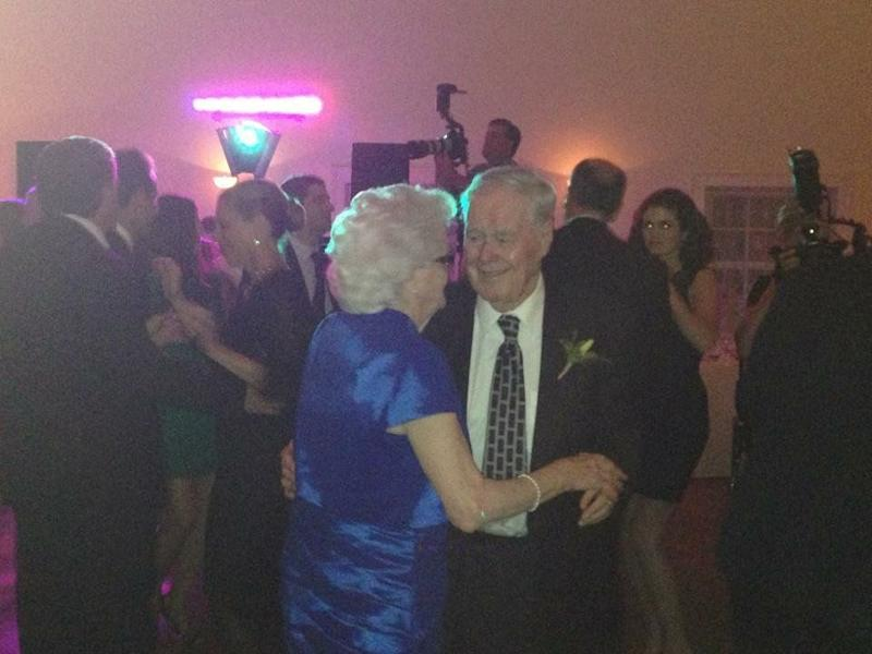 """""""They share a sense of humor and make it a priority to do things they enjoy together, even though that has become harder for them with age."""" - <em>Theresa Kelliher</em>"""