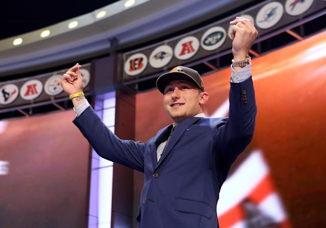VOD: Johnny Manziel, action figures and a disapproving Charles Woodson
