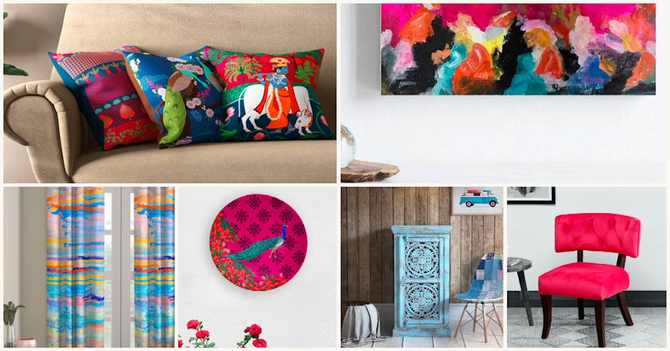 Let the Festival of Colours inspire your home interiors
