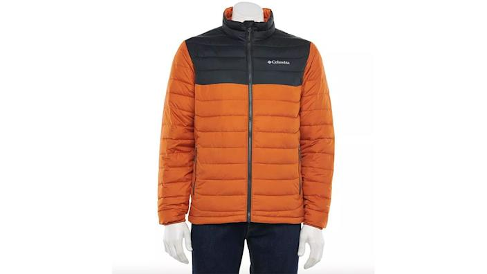 Guys can grab lightweight or waterproof jackets from Kohl's, Macy's and more.