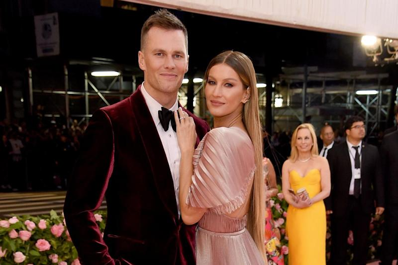 Tom Brady and Bündchen at the Met Gala on 6 May 2019 in New York City: Jamie McCarthy/Getty Images