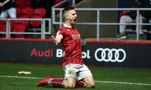 Football League: 10-man Bristol City back on track with win over QPR