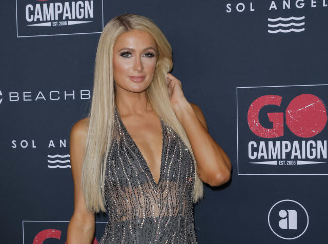 LOS ANGELES, CALIFORNIA - NOVEMBER 16: Paris Hilton attends the Go Campaign's 13th Annual Go Gala at NeueHouse Hollywood on November 16, 2019 in Los Angeles, California. (Photo by Tibrina Hobson/WireImage)