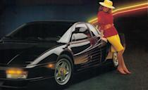 """<p>Long derided in collector-car circles for its """"cheese-grater"""" side strakes and general aura of '80s cheesiness, the Ferrari Testarossa is undeniably as much a product of its era as Ronald Reagan, Donkey Kong, and Michael Jackson's <em>Thriller</em>. But while cheesiness fades—particularly as the popular view of the 1980s inevitably morphs from contempt to nostalgia—the awesomeness of a mid-mounted flat-12 needs no such transformation. With a then-astronomical 380 horsepower on tap, it was good for nearly 180 mph, making the Testarossa the fastest car you could buy in 1986 (its debut year in the U.S.). We enjoyed <a href=""""http://www.caranddriver.com/reviews/1985-ferrari-testarossa-archived-road-test-review"""" rel=""""nofollow noopener"""" target=""""_blank"""" data-ylk=""""slk:testing it"""" class=""""link rapid-noclick-resp"""">testing it</a> in '86. </p>"""
