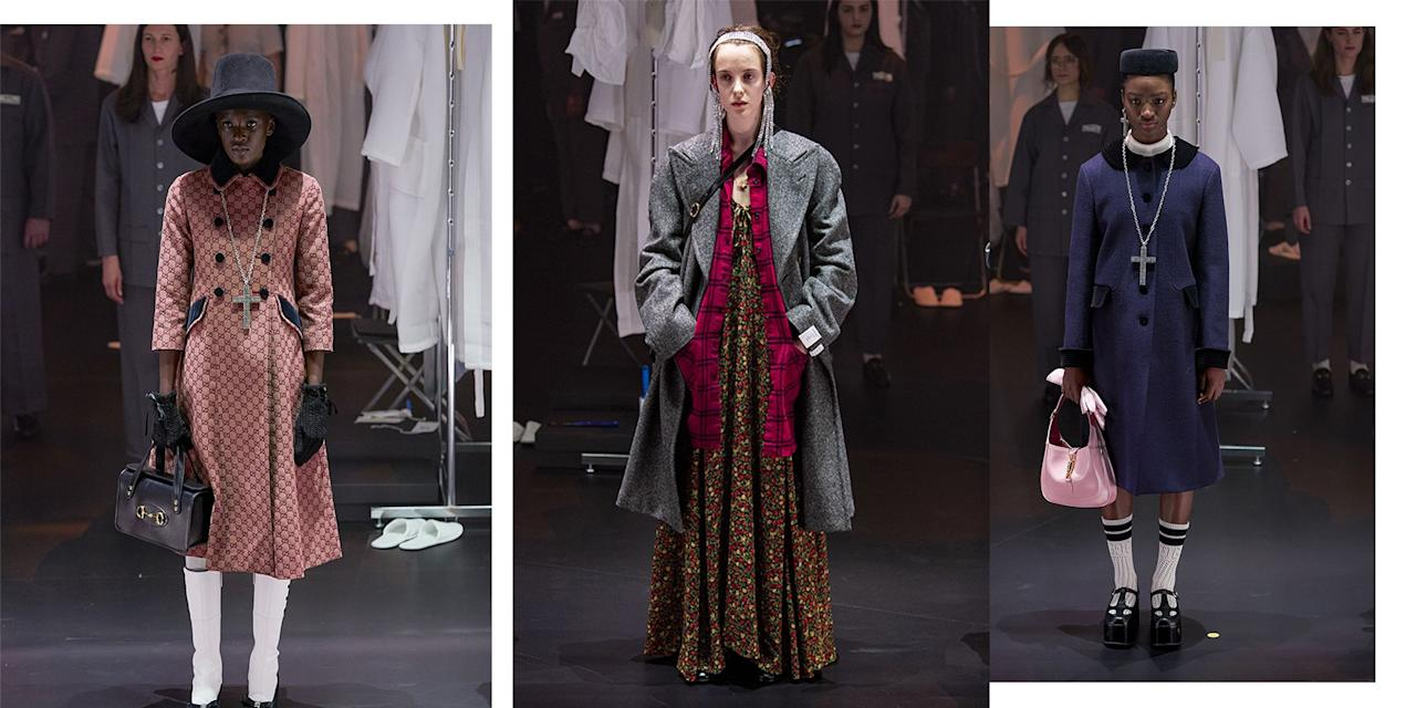<p>Whether heavy leather jackets a la Coach 1941 or Marc Jacobs sherbet hued, First Lady-like coats are much more up your street - the catwalks of AW20 have got you covered. </p>