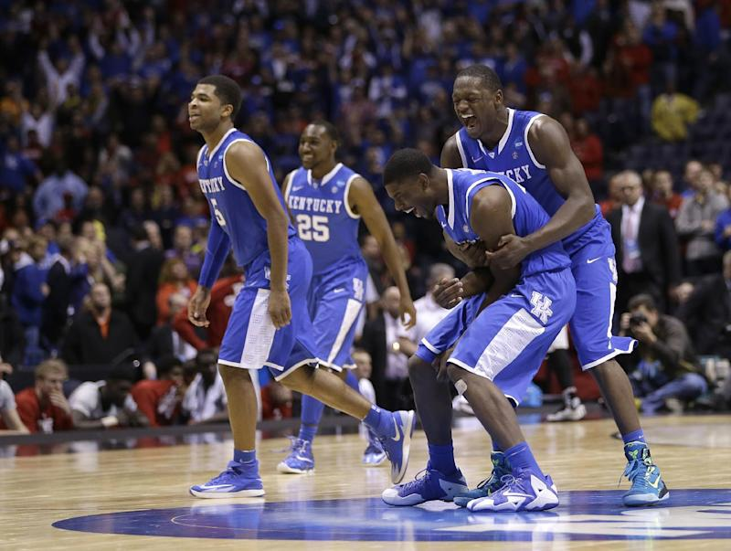 Kentucky took the hard way to verge of Final Four