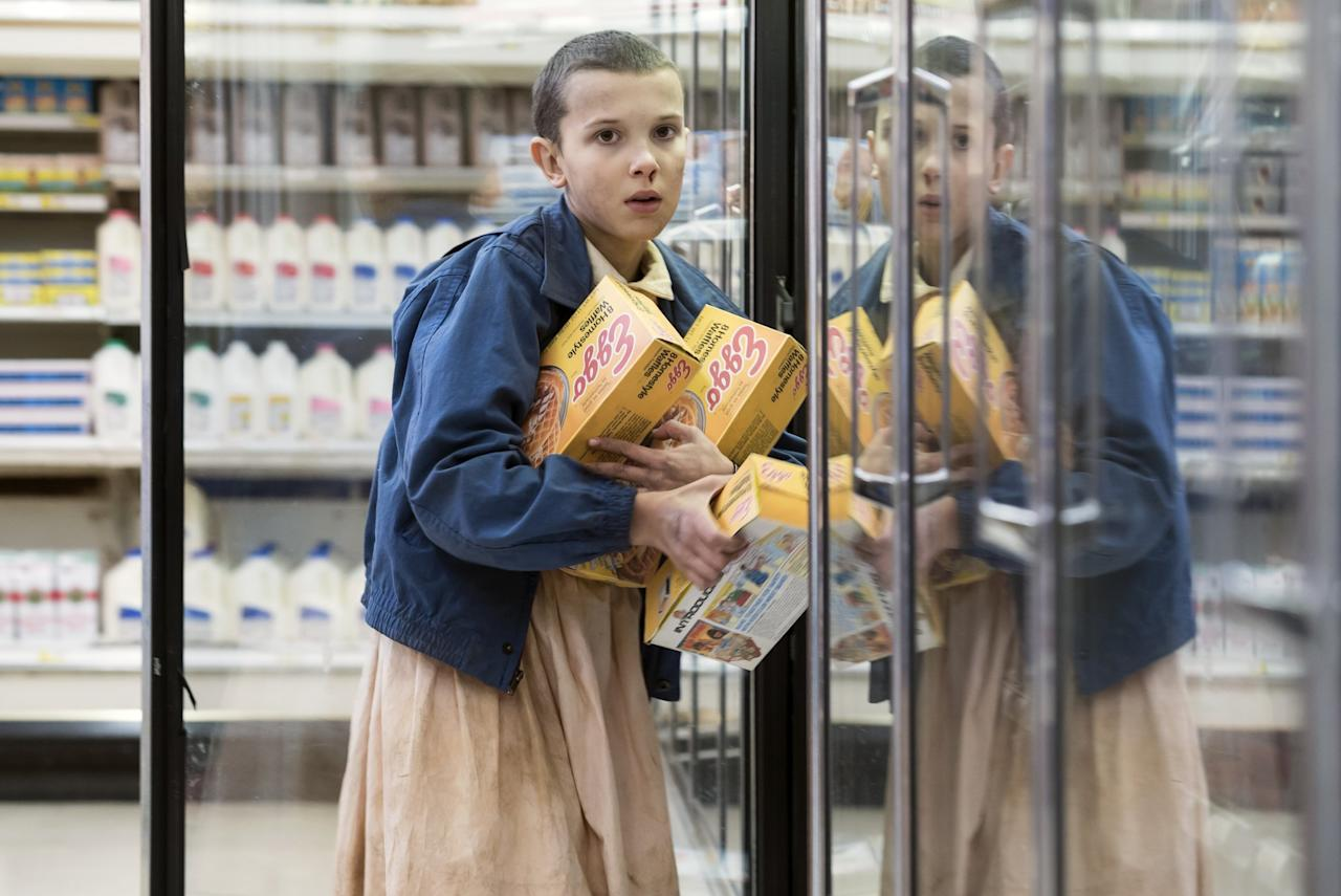 <p>Tra i fan di Stranger Things, Eleven, interpretata da Millie Bobby Brown è un personaggio amatissimo… </p>