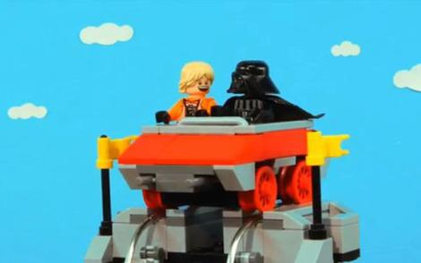 Cute LEGO Star Wars vid made for Father's Day