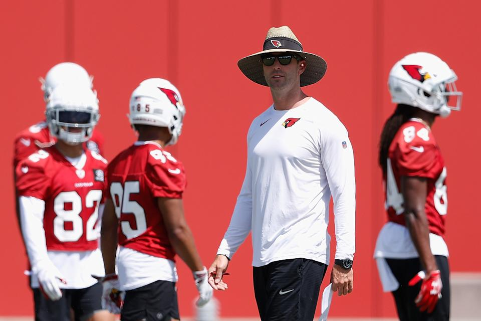 Cardinals coach Kliff Kingsbury faces a critical season. (Photo by Christian Petersen/Getty Images)