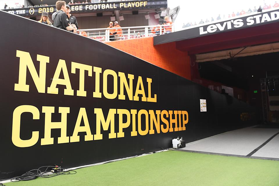 How different will the College Football Playoff look in a few years? (David Dennis/Icon Sportswire via Getty Images)
