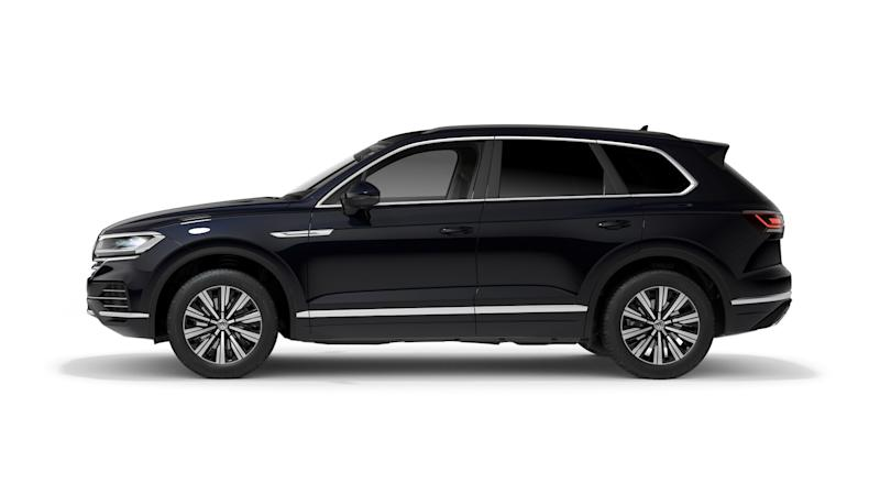 The Touareg is Volkswagen's largest SUV on sale