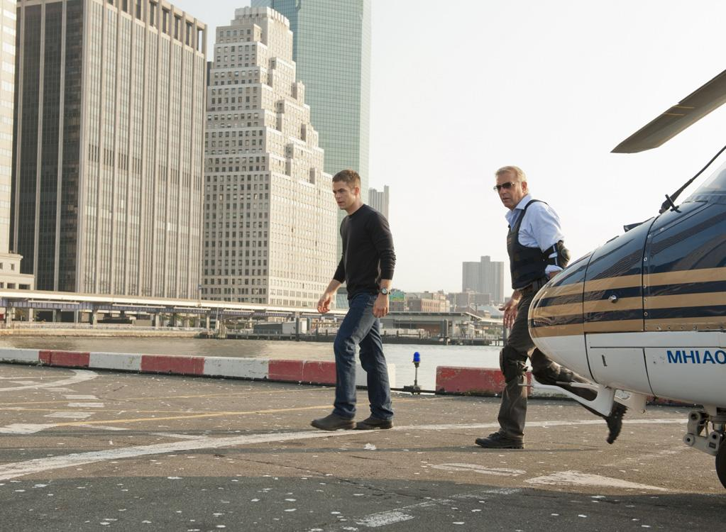 "Chris Pine and Kevin Costner in Paramount Pictures' ""Jack Ryan"" - 2013"