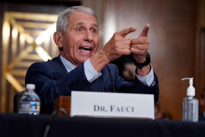 Rand Paul accused Anthony Fauci of lying to Congress about the origins of COVID-19.  Then it got strong.