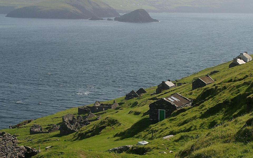 Great Blasket Island is a remote, rugged place - Getty