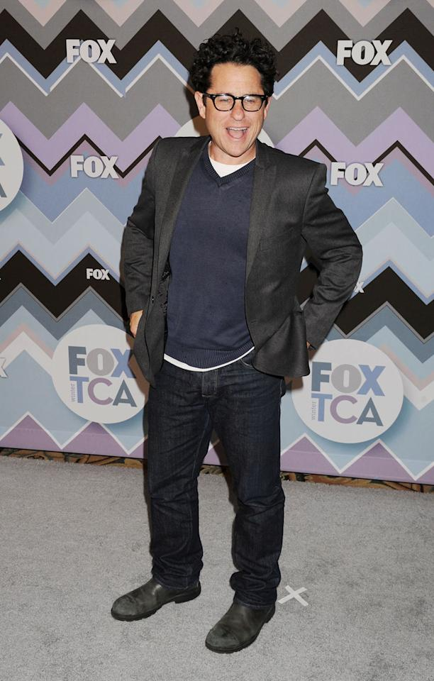J J Abrams arrives at the 2013 TCA Winter Press Tour - FOX All-Star Party at The Langham Huntington Hotel and Spa on January 8, 2013 in Pasadena, California.