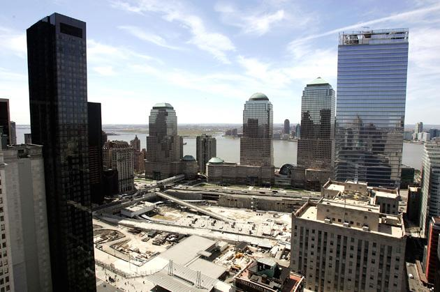 Work Continues At World Trade Center Site