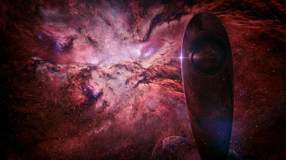 """The Spaceship of Imagination soars through the universe in """"Cosmos: A Spacetime Odyssey"""" on Fox. The final episode airs Sunday, June 8."""