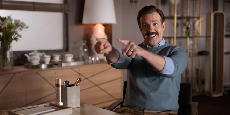 TED LASSO, Jason Sudeikis, 'Trent Crimm: The Independent', (Season 1, ep. 103, aired Aug. 14, 2020). Apple TV+ / Courtesy Everett Collection