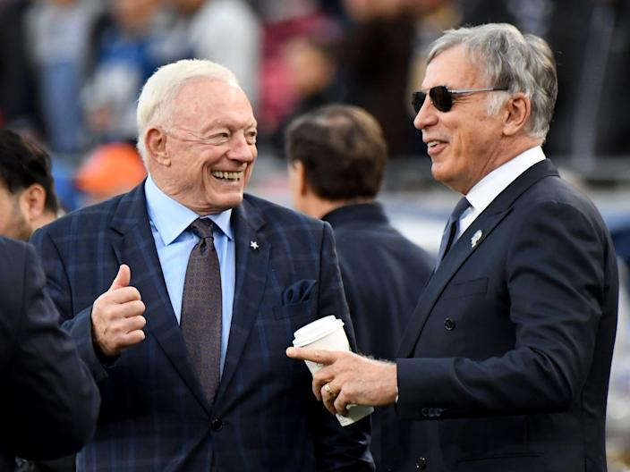 Jerry Jones and Stanley Kroenke