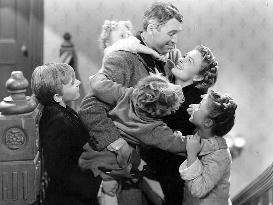 """""""It's A Wonderful Life"""" follows a disillusioned man on Christmas Eve."""