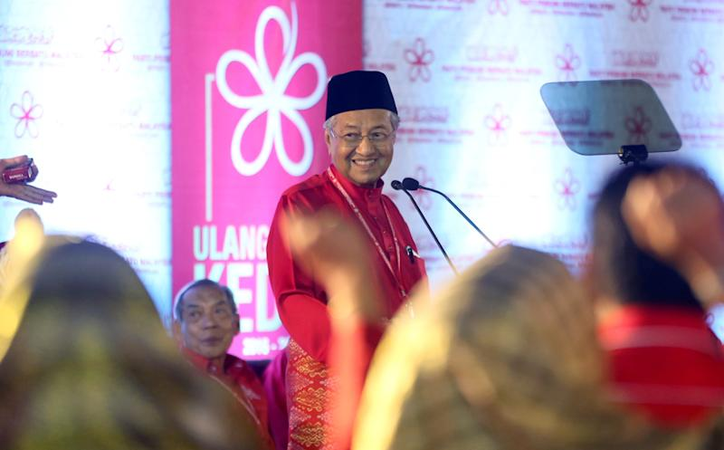 Dr Mahathir says the Budget 2019 will entail many sacrifices as his government is looking to save money after inheriting some RM1 trillion in debts and liabilities from the previous administration. — Picture by Razak Ghazali